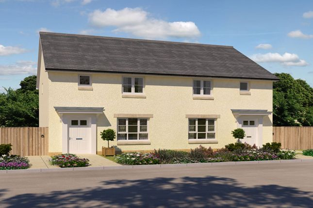 "Thumbnail Semi-detached house for sale in ""Wemyss"" at Kildean Road, Stirling"
