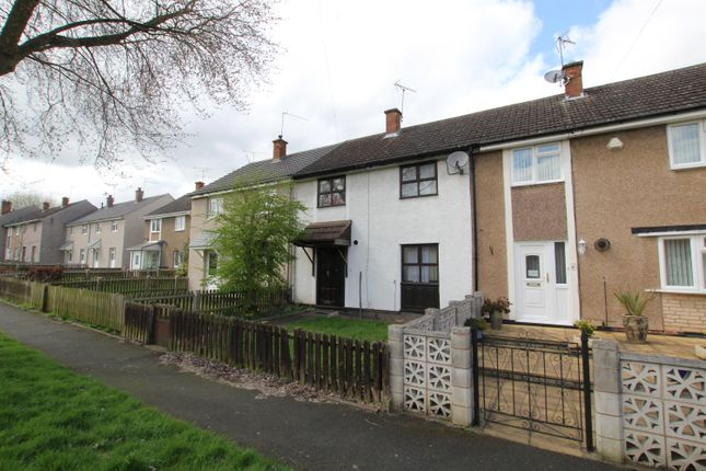 Thumbnail Terraced house to rent in Stanley Close, Redditch