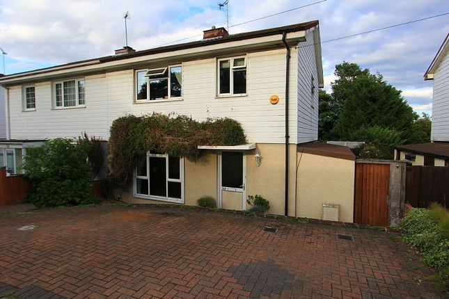Thumbnail Semi-detached house for sale in Sunnyside Road, Epping, Essex