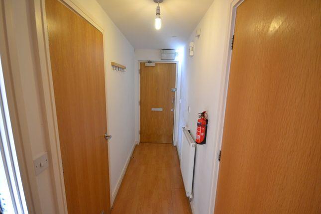 Hallway of 50@Drakes Circus, 46 Ebrington Street, Plymouth PL4
