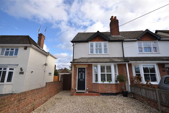 Thumbnail Semi-detached house for sale in Mill Lane, Yateley, Hampshire