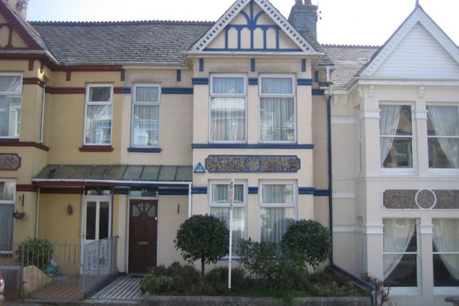 Thumbnail Terraced house to rent in Endsleigh Park Road, Plymouth