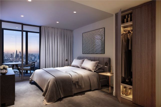 Thumbnail Flat for sale in 59.06 The Landmark Pinnacle, Westferry Road, Isle Of Dogs, London