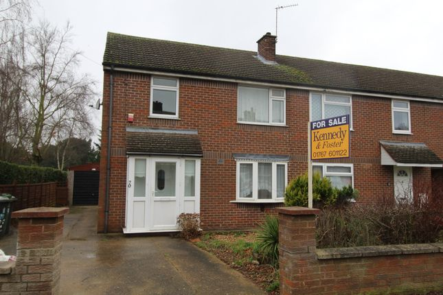 3 bed end terrace house for sale in Rowan Crescent, Biggleswade SG18