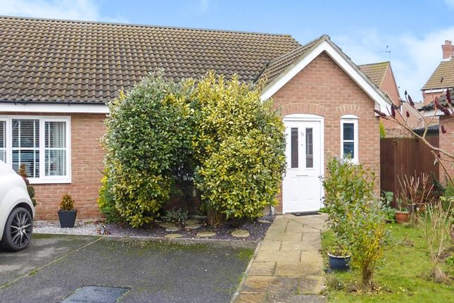 Thumbnail Semi-detached bungalow for sale in Franklin Way, Watlington, King's Lynn