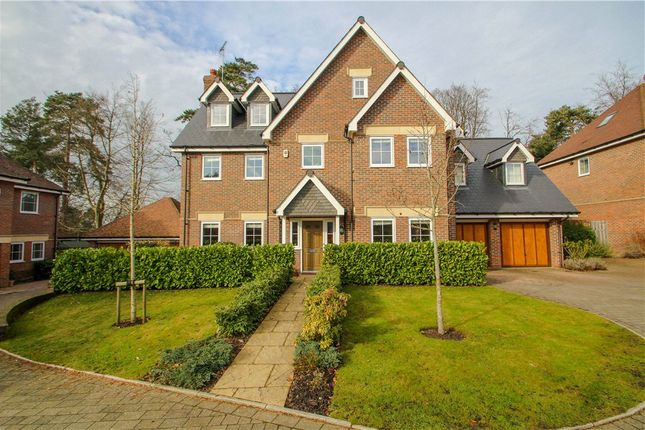 Thumbnail Detached house for sale in Kensington Drive, Camberley, Surrey