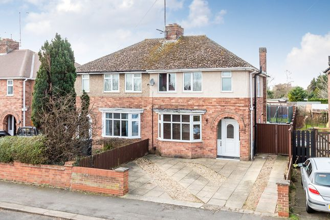 Thumbnail Semi-detached house for sale in Hall Avenue, Rushden