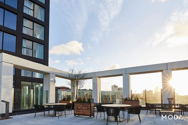 Roof Terrace of Angel Gardens, Manchester M4
