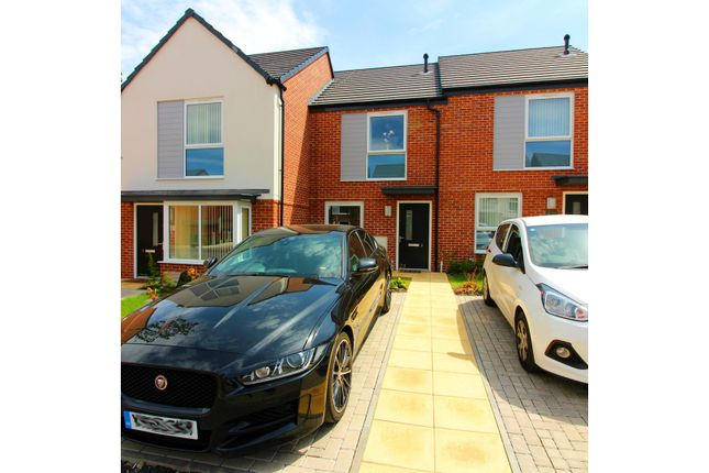 Thumbnail Town house for sale in Walnut Close, Bilston