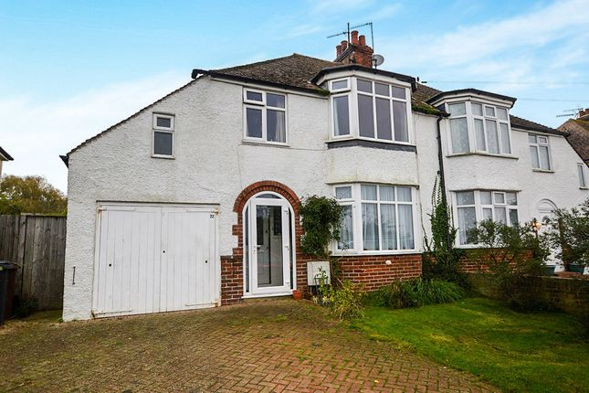 Thumbnail Semi-detached house for sale in New Winchelsea Road, Rye