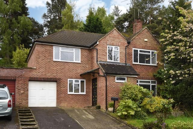 Thumbnail Semi-detached house for sale in Arundel Road, Camberley, Surrey