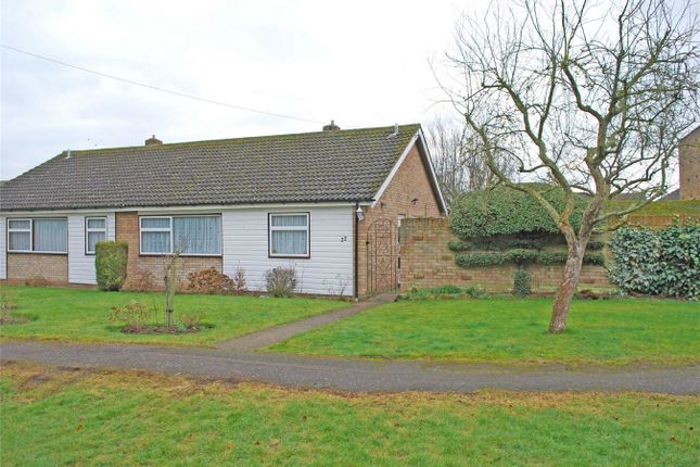 Thumbnail Semi-detached bungalow for sale in Pollards Close, Wilstead, Bedfordshire