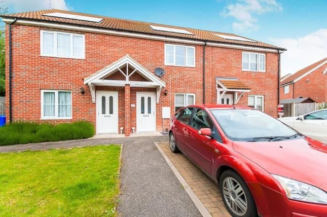 Thumbnail 2 bed terraced house for sale in Ostler Walk, Kirton, Boston, Lincolnshire