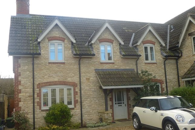 Thumbnail End terrace house for sale in The Wheelwrights, Sutton Benger, Chippenham