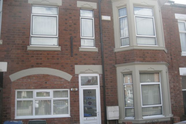 Thumbnail Terraced house to rent in Marlborough Road Room 7, Coventry