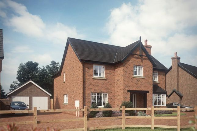 4 bedroom detached house for sale in Marsh Lane, Hinstock, Market Drayton