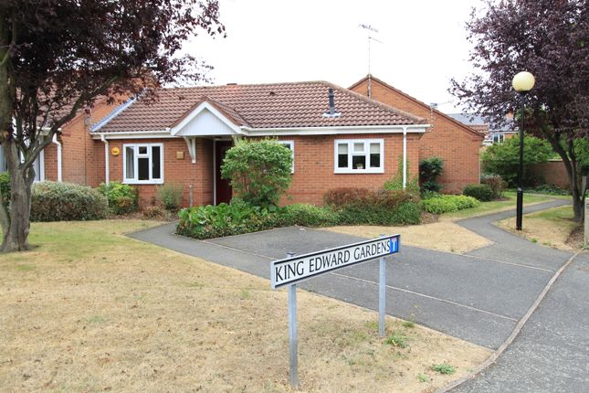 Thumbnail Terraced bungalow for sale in King Edward Gardens, Hall Drive, Sandiacre