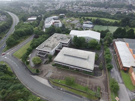 Thumbnail Office for sale in 27 Burrington Way, Plymouth