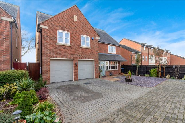 Thumbnail Detached house for sale in Spion Kop, Oadby, Leicester
