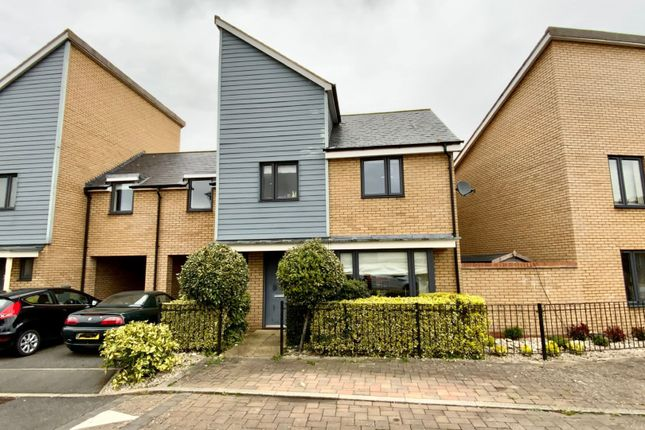 Thumbnail Semi-detached house for sale in Merino Green, Oakridge Park, Milton Keynes