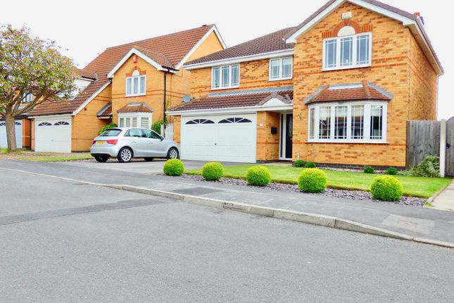 Thumbnail Detached house for sale in Kestrel Drive, Adwick-Le-Street, Doncaster