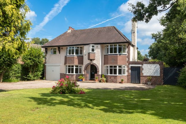 Thumbnail Detached house for sale in School Road, Hockley Heath, Solihull