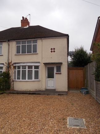 Thumbnail Semi-detached house to rent in Wolverton Road, Newport Pagnell, Milton Keynes
