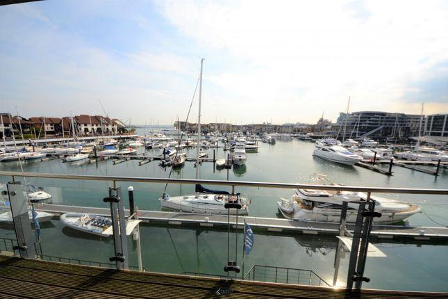 Thumbnail Flat to rent in Channel Way, Ocean Village, Southampton