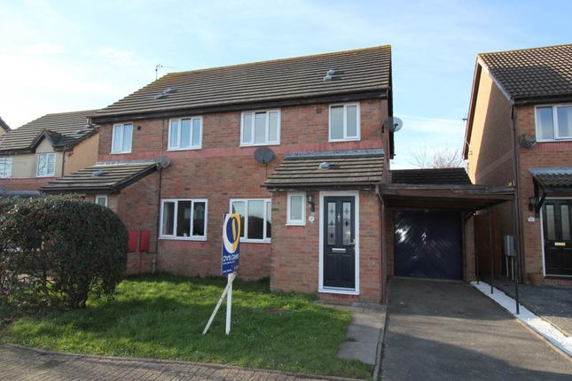 3 bed semi-detached house to rent in Picton Road, Rhoose, Barry CF62