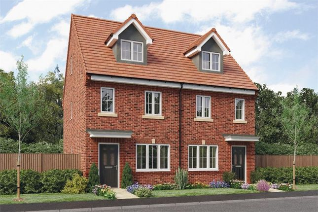 "Thumbnail Town house for sale in ""Tolkien"" at Leeds Road, Thorpe Willoughby, Selby"