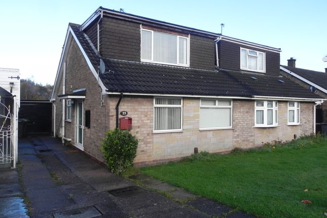 Thumbnail Semi-detached bungalow for sale in Friesland Drive, Wolverhampton