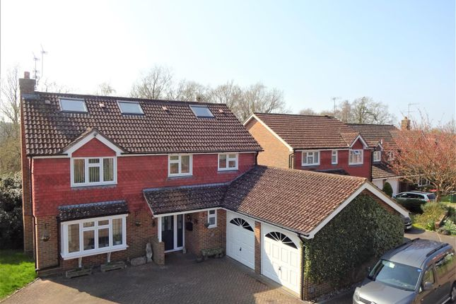 Thumbnail Detached house for sale in Toftwood Close, Maidenbower, Crawley