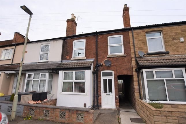 2 bed terraced house for sale in Station Road, Kegworth, Derby DE74