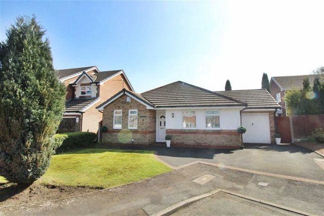 Thumbnail Detached bungalow for sale in Bratton Close, Winstanley, Wigan