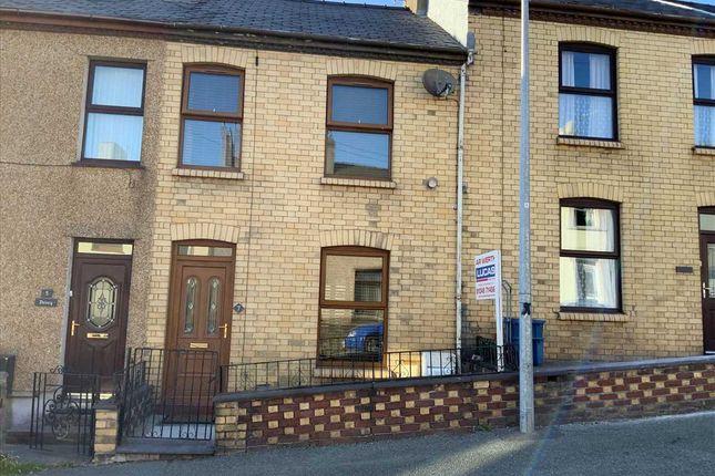 Thumbnail Terraced house for sale in Marcus Street, Caernarfon
