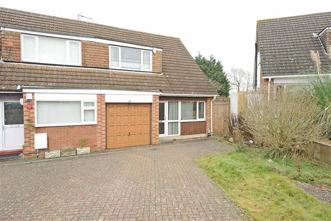 Thumbnail Semi-detached house for sale in Pendered Road, Wellingborough