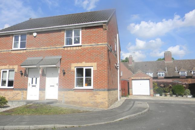 2 bed semi-detached house for sale in Juniper Way, Gainsborough DN21