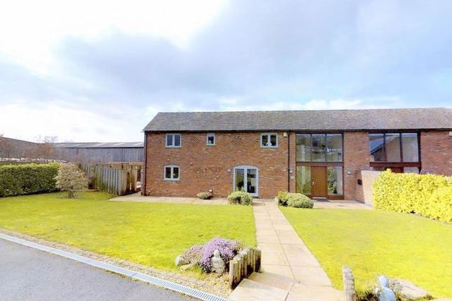 Thumbnail Barn conversion for sale in Mill Lane, Scholar Green, Stoke-On-Trent