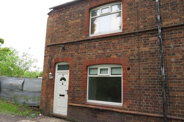 Thumbnail End terrace house for sale in Wade Street, Northwich