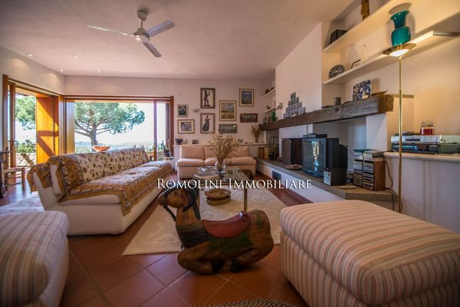 Sea View Villa For Sale In Punta Ala, Argentario