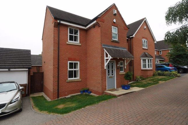 Thumbnail Detached house to rent in Barons Close, Kirkby Muxloe