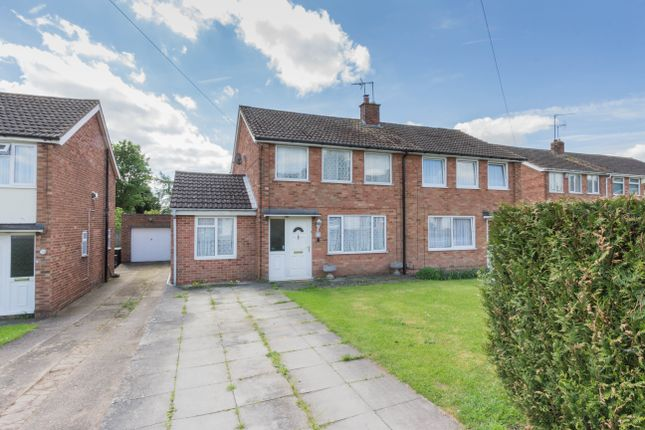 Thumbnail Semi-detached house for sale in Mountfield Road, Irthlingborough, Wellingborough