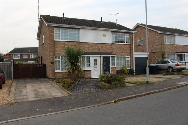 3 bed semi-detached house for sale in Warwick Rd, Broughton Astley, Leicester