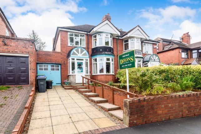 Thumbnail Semi-detached house for sale in Abbey Road, Smethwick, Birmingham, West Midlands