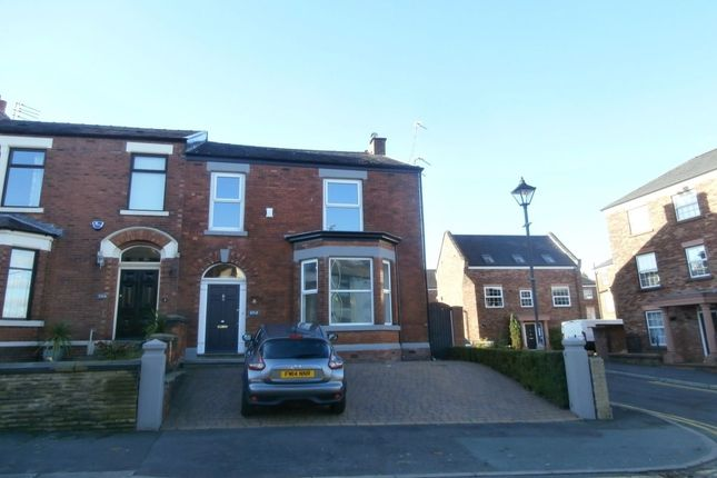 Thumbnail Semi-detached house for sale in Stockport Road, Hyde