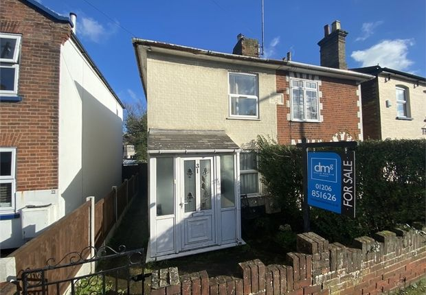 Thumbnail Semi-detached house for sale in Bergholt Road, Colchester
