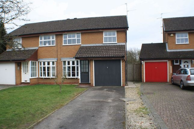 Thumbnail Semi-detached house to rent in Vickers Close, Woodley, Reading