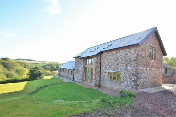 Thumbnail Barn conversion for sale in Stoodleigh, Tiverton