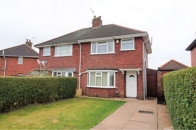 Thumbnail Semi-detached house for sale in Leamington Drive, Sutton-In-Ashfield