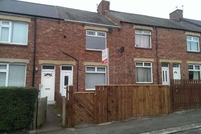 Thumbnail Terraced house to rent in Ernest Street, Pelton, Chester Le Street